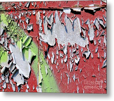 Paint Abstract Metal Print by Ed Weidman