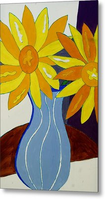 Paint By Number Metal Print by Lola Connelly