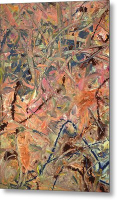 Paint Number 52 Metal Print by James W Johnson