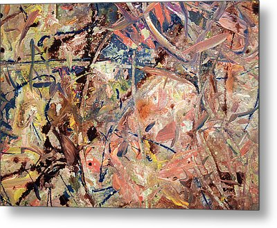 Paint Number 53 Metal Print by James W Johnson