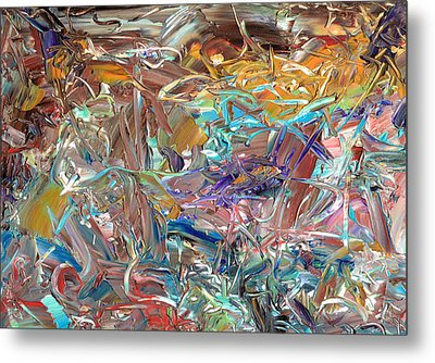 Paint Number46 Metal Print by James W Johnson