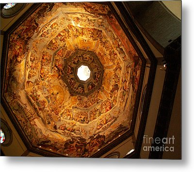 Painted Dome Metal Print by Evgeny Pisarev