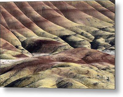 Painted Hills Oregon 11 Metal Print by Bob Christopher