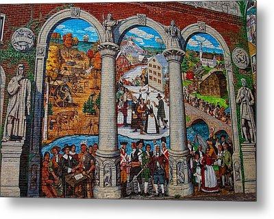 Painted History 2 Metal Print by Joann Vitali