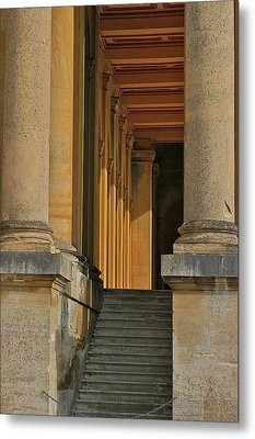 Palace Step Metal Print by Joseph Yarbrough