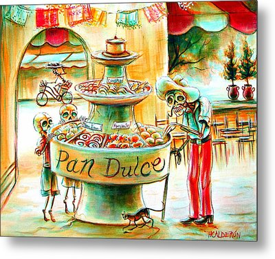 Pan Dulce Metal Print by Heather Calderon