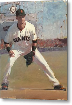 Panik At Second Metal Print by Darren Kerr