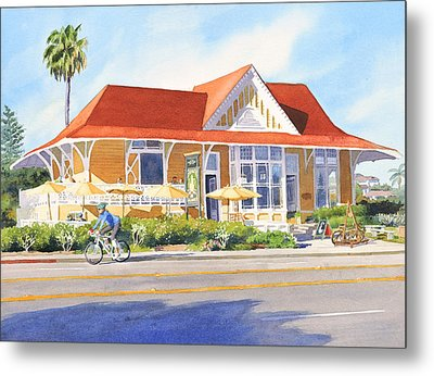 Pannikin Encinitas Metal Print by Mary Helmreich