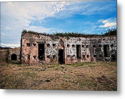 Parade Grounds Metal Print by Andy Crawford