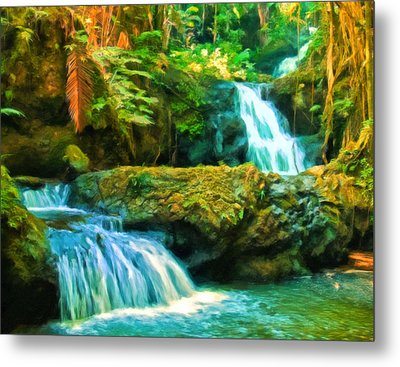 Paradise Found Metal Print by Michael Pickett