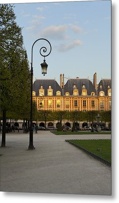 Parc Louis Xiii Metal Print by Art Ferrier