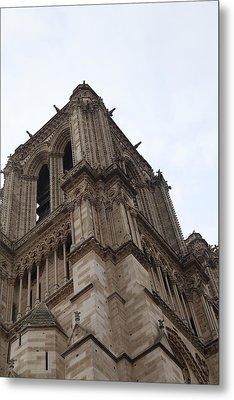 Paris France - Notre Dame De Paris - 01139 Metal Print by DC Photographer