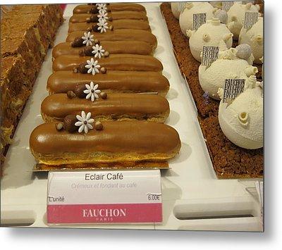 Paris France - Pastries - 121279 Metal Print by DC Photographer