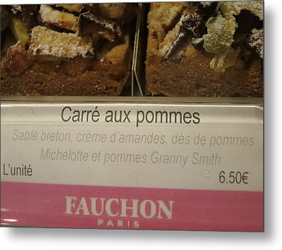 Paris France - Pastries - 121295 Metal Print by DC Photographer