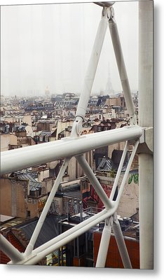 Paris Geometry 2 Metal Print by Art Ferrier
