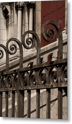 Paris Geometry 4 Metal Print by Art Ferrier