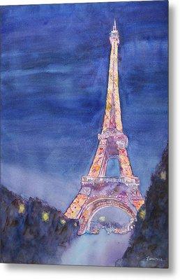 Paris Giant Metal Print by Jenny Armitage