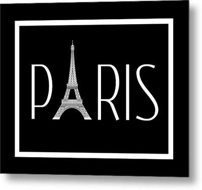 Paris Metal Print by Jaime Friedman