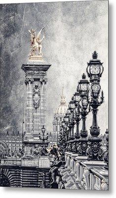 Paris Pompous 2 Metal Print by Joachim G Pinkawa