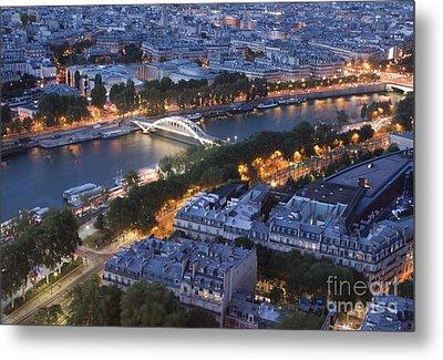 Paris View Metal Print by Ivete Basso Photography