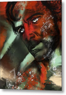 Passion Metal Print by Francoise Dugourd-Caput