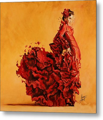 Passion Metal Print by Karina Llergo