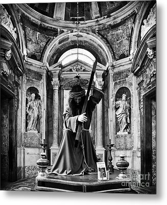 Passion Of Christ Metal Print by Jose Elias - Sofia Pereira