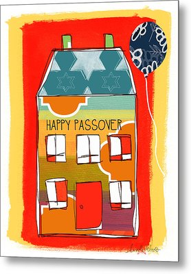 Passover House Metal Print by Linda Woods
