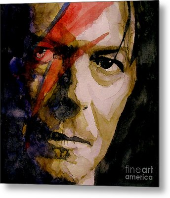Past And Present Metal Print by Paul Lovering