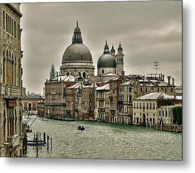 Metal Print featuring the photograph Past Time by Thierry Bouriat
