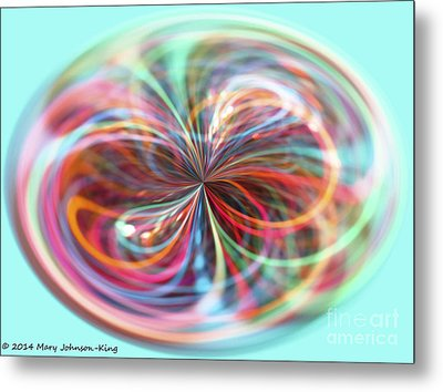 Pastel Light Metal Print by Mary  King