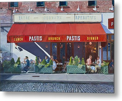 Pastis Metal Print by Anthony Butera