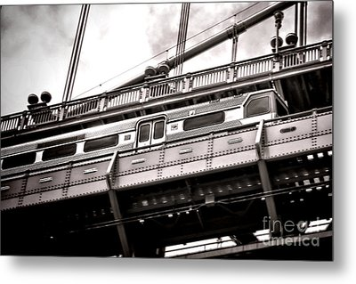 Patco Metal Print by Olivier Le Queinec