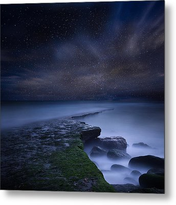 Path To Infinity Metal Print by Jorge Maia