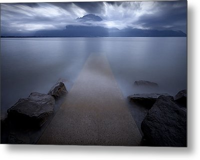 Path To Nowhere Metal Print by Dominique Dubied