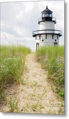 Path To The Lighthouse Metal Print by Edward Fielding