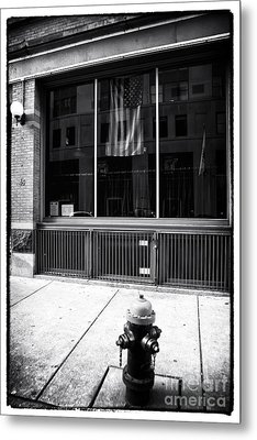 Patriotic Boston Metal Print by John Rizzuto
