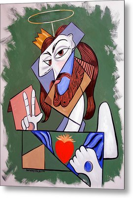 Peace Be With You Metal Print by Anthony Falbo