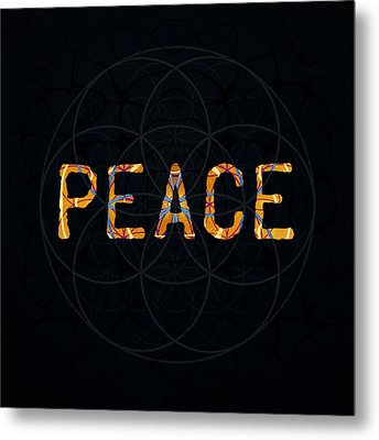Peace Metal Print by Janelle Schneider