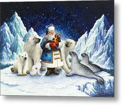 Peace On Earth  Metal Print by Lynn Bywaters