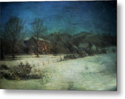 Peaceful In The Country Metal Print by Kathy Jennings