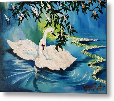 Peaceful Life Metal Print by Anjanita Das