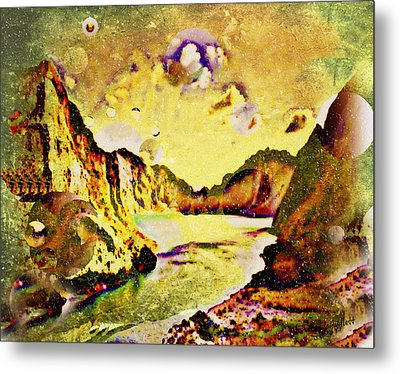 Peaceful Secret Metal Print by YoMamaBird Rhonda
