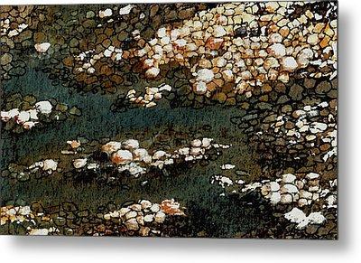 Pebbles Metal Print by Anastasiya Malakhova