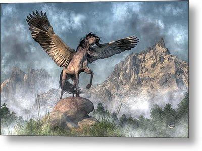 Pegasus Metal Print by Daniel Eskridge