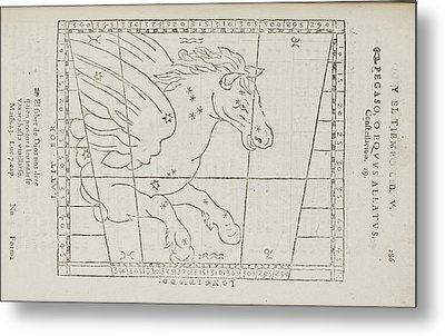 Pegasus Star Constellation Metal Print by British Library