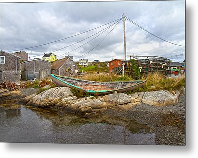 Peggy's Cove 10 Metal Print by Betsy C Knapp