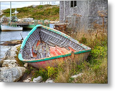 Peggy's Cove 11 Metal Print by Betsy C Knapp
