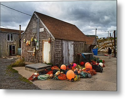 Peggy's Cove 15 Metal Print by Betsy C Knapp