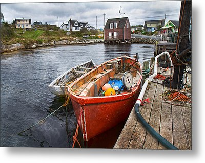 Peggy's Cove 19 Metal Print by Betsy C Knapp